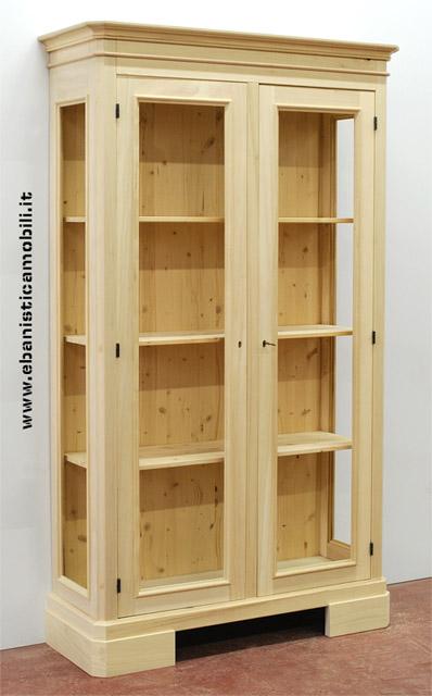 Ebanistica mobili su misura e lavorazioni del legno a - Mobile bagno legno grezzo ...